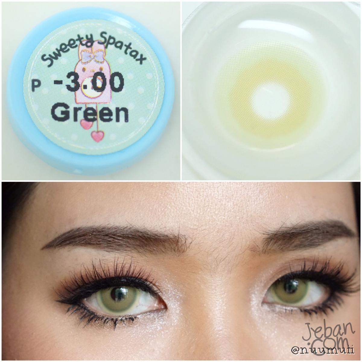 Sweety Spatax Green Colored Eye Lenses Bbbeautycontact